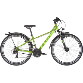 s'cool troX EVO 26 21-S Enfant, green/lemon matt
